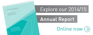 Explore our Annual Report for 2014/15. Online now.