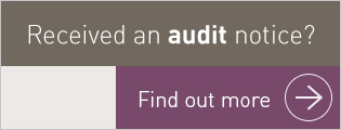 Received an audit notice? Find out more.